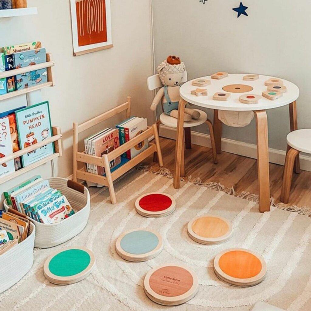 ruang belajar montessori
