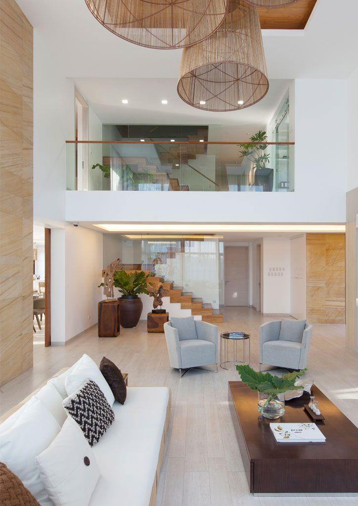 desain rumah tropis modern