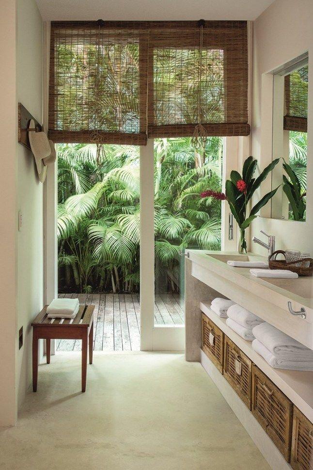 interior rumah tropis modern