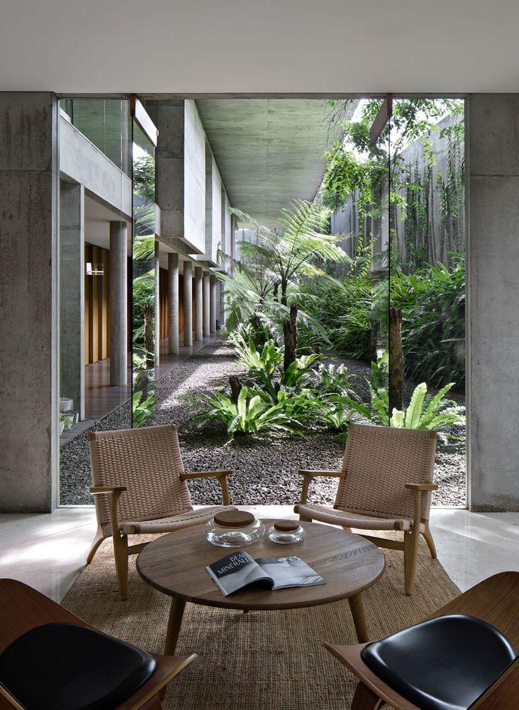 desain interior rumah tropis modern