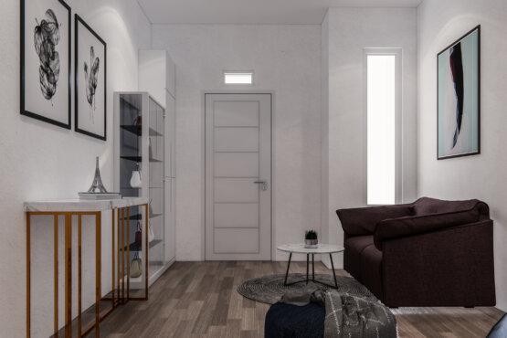 inspirasi ruang tamu modern