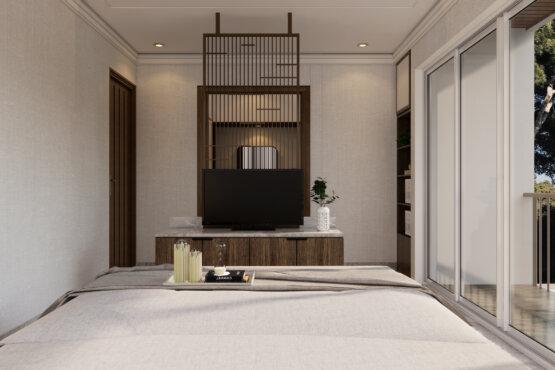 desain kamar utam modern