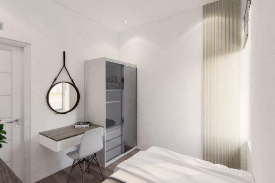 ide desain kamar tidur modern