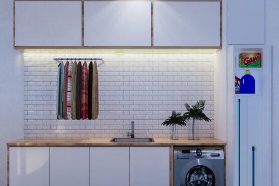 desain laundry room modern