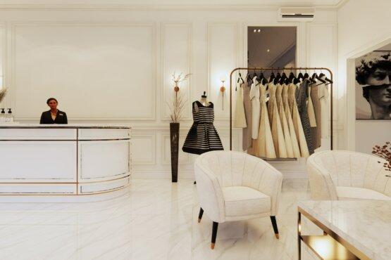 desain butik klasik