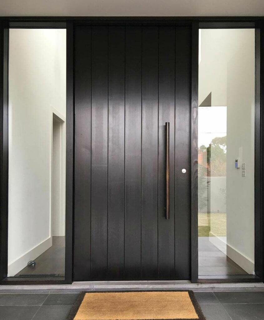 desain pintu minimalis kontemporer