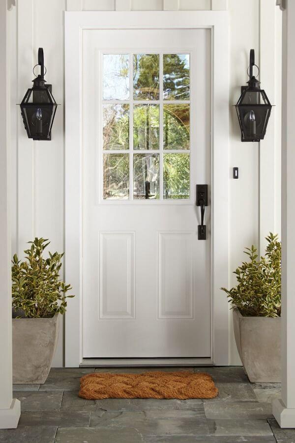 desain pintu minimalis dengan kaca