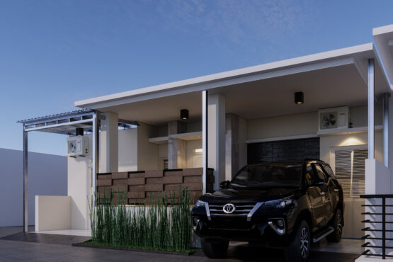 tampilan rumah modern