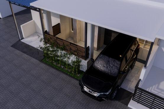 tampilan fasad rumah modern