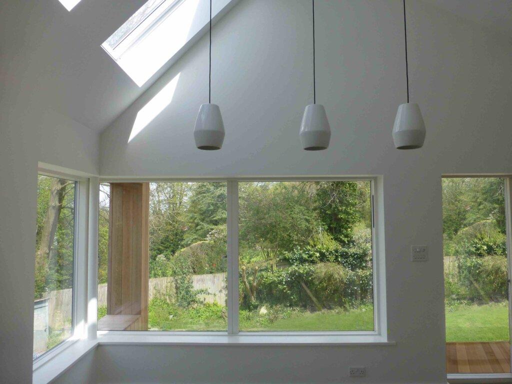 jendela kayu lapis alumunium