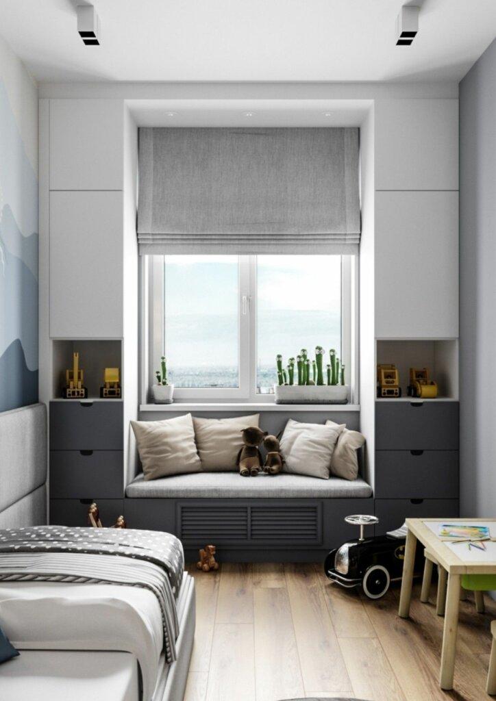 jendela kamar minimalis model oriel