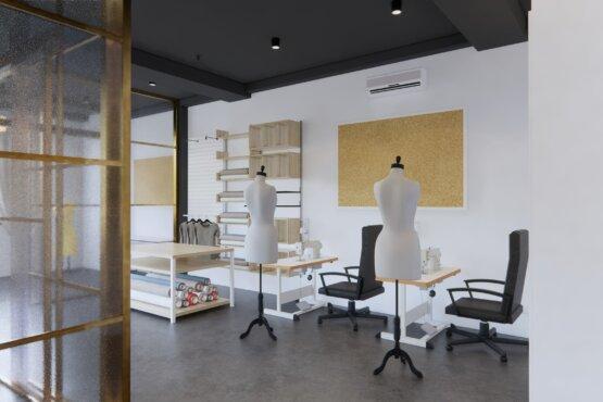 desain butik modern klasik