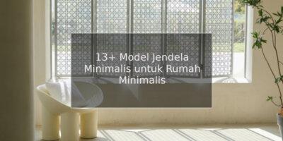 model jendela minimalis