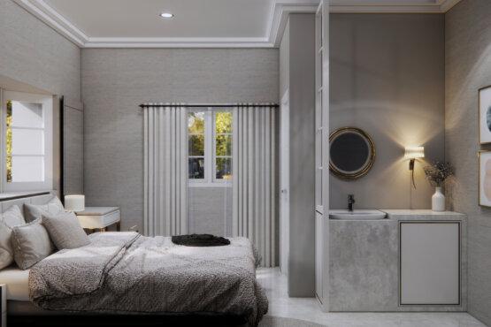 desain kamar tidur klasik