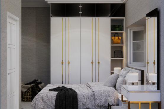 interior kamar tidur klasik