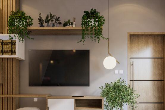 ide ruang keluarga eclectic designs