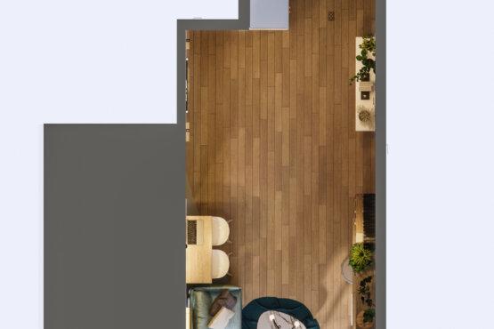 inspirasi ruang keluarga dengan eclectic designs