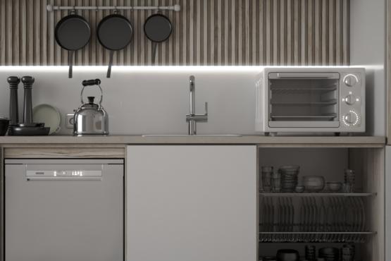 inspirasi dapur scandinavian-japanese