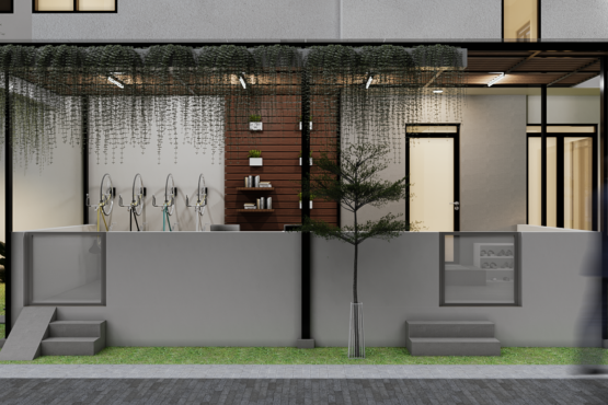 desain teras rumah kontemporer