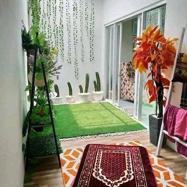 desain mushola rumah minimalis semi-outdoor