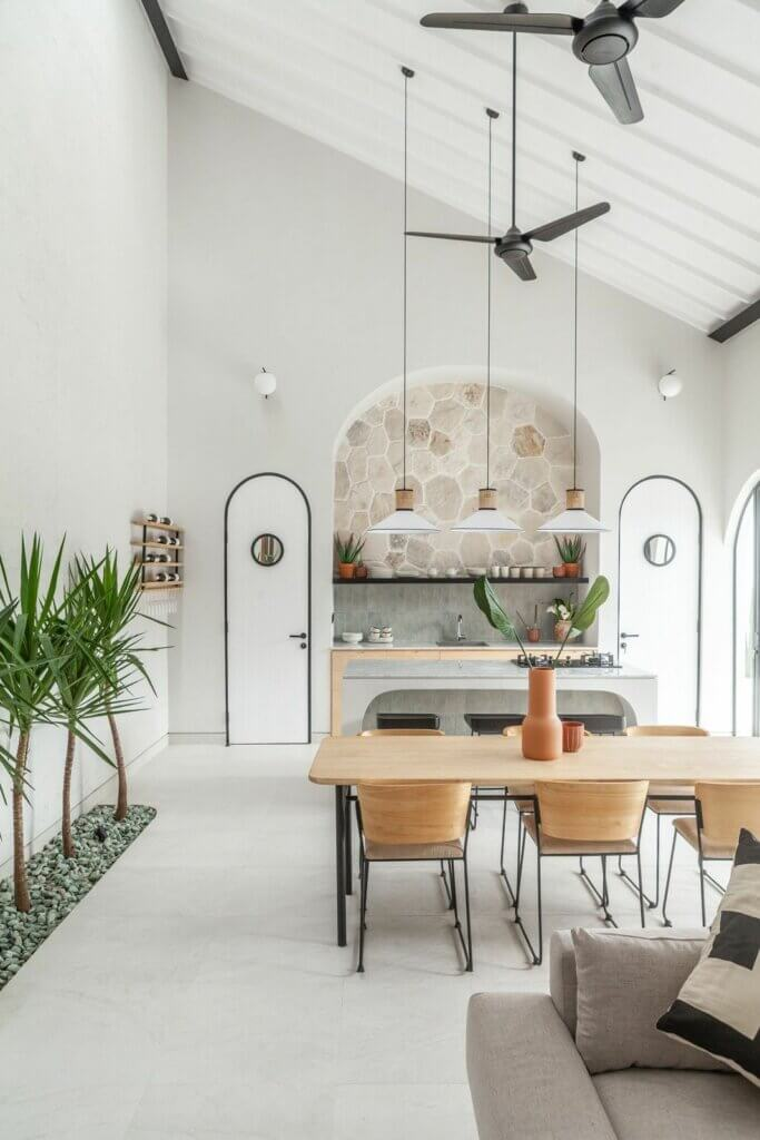 plafon rumah minimalis farmhouse