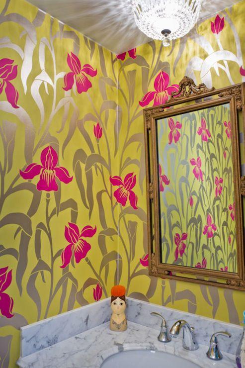 wallpaper dinding kamar mandi dari house of honey