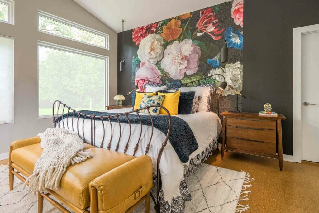 wallpaper dinding kamar karya eleven 11 design