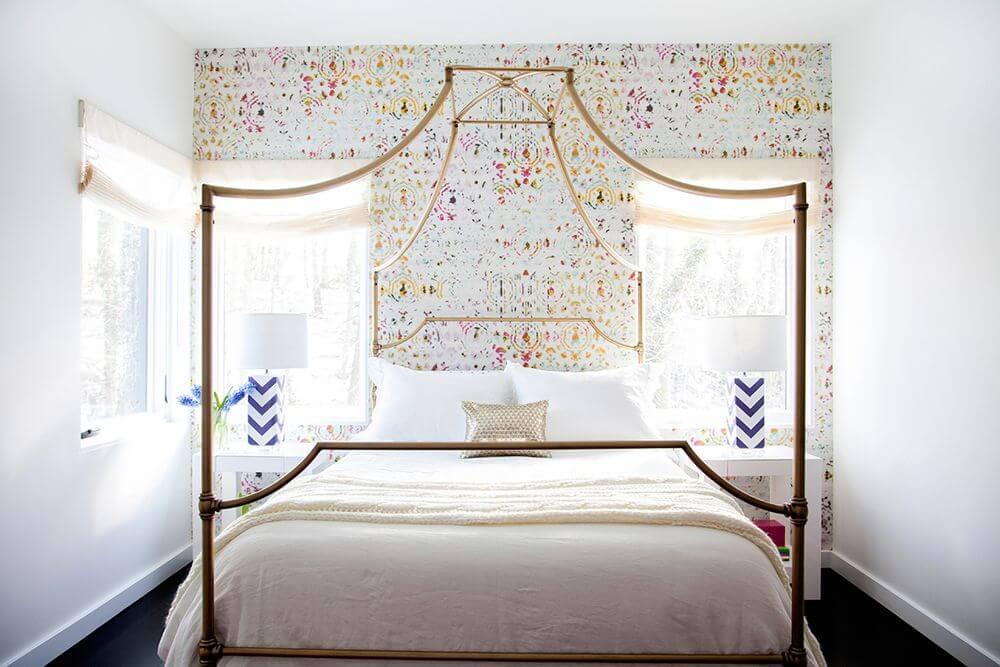 wallpaper dinding kamar karya abaca interiors