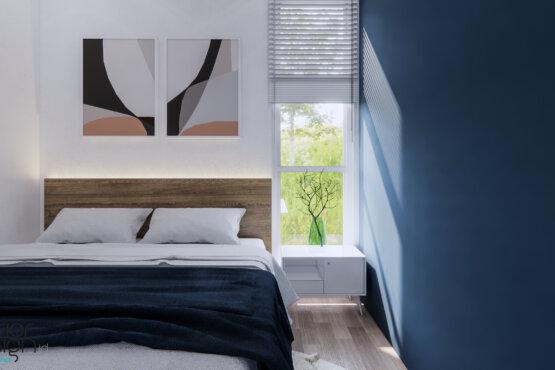 interior kamar tidur skandinavia