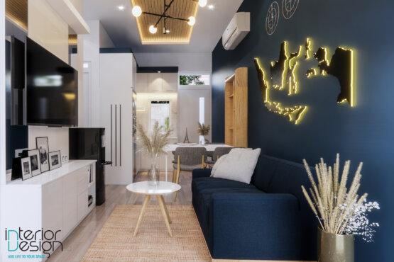 inspirasi desain ruang keluarga scandinavian