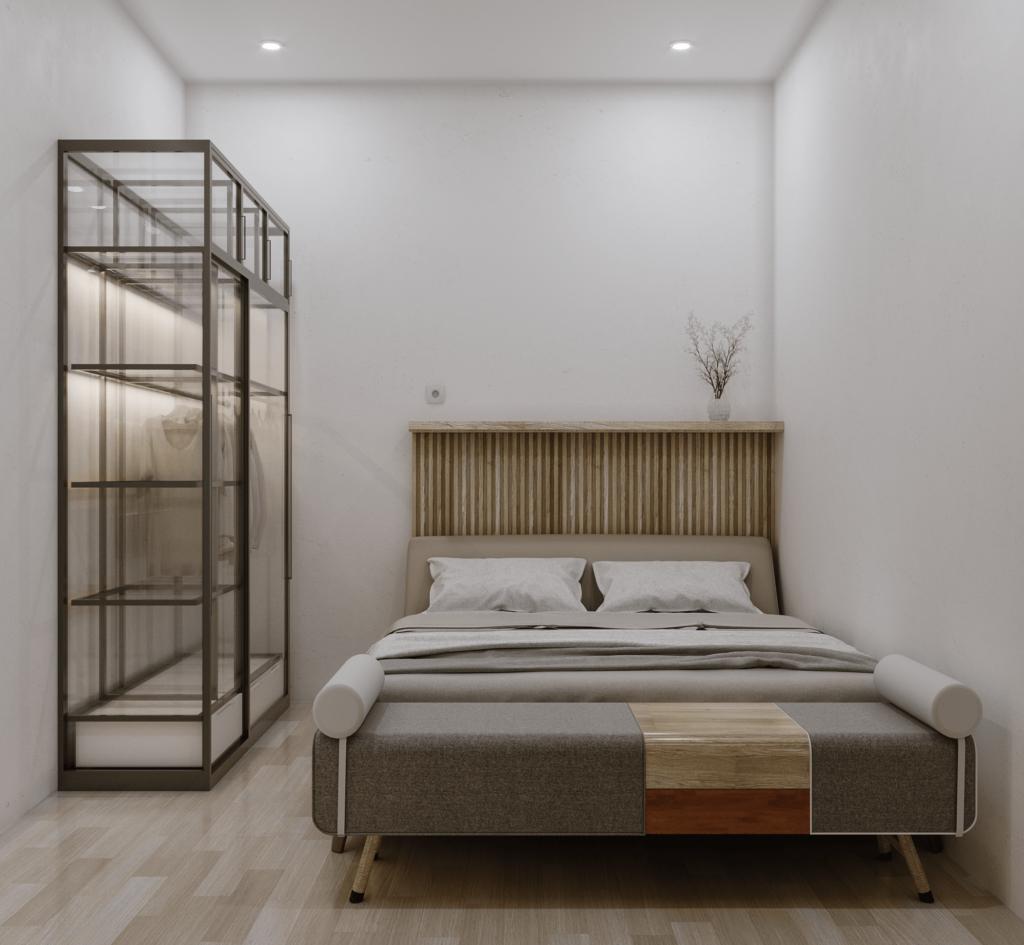 kamar tidur scandinavian