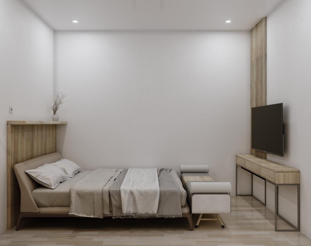 inspirasi kamar tidur scandinavian