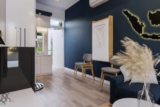 inspirasi desain interior ruang keluarga scandinavian