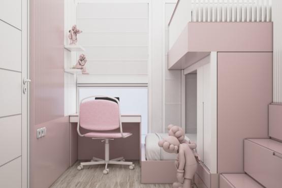 kamar anak scandinavian