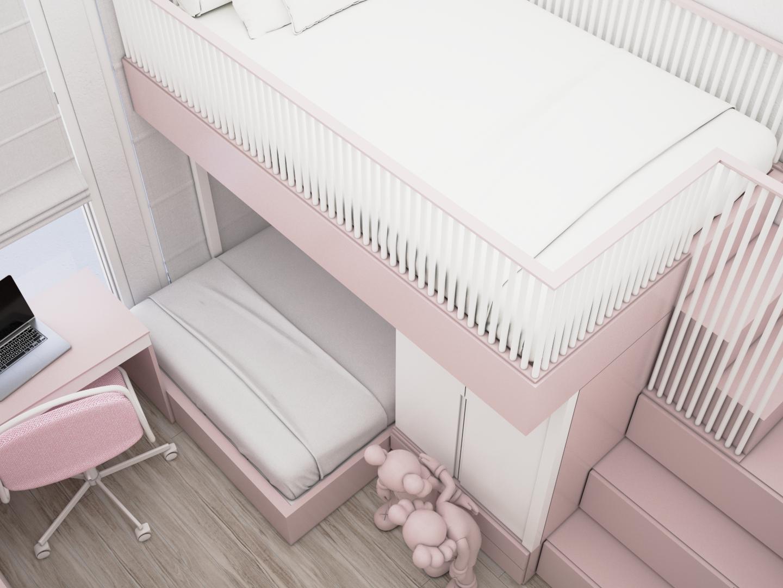 desain kamar anak scandinavian