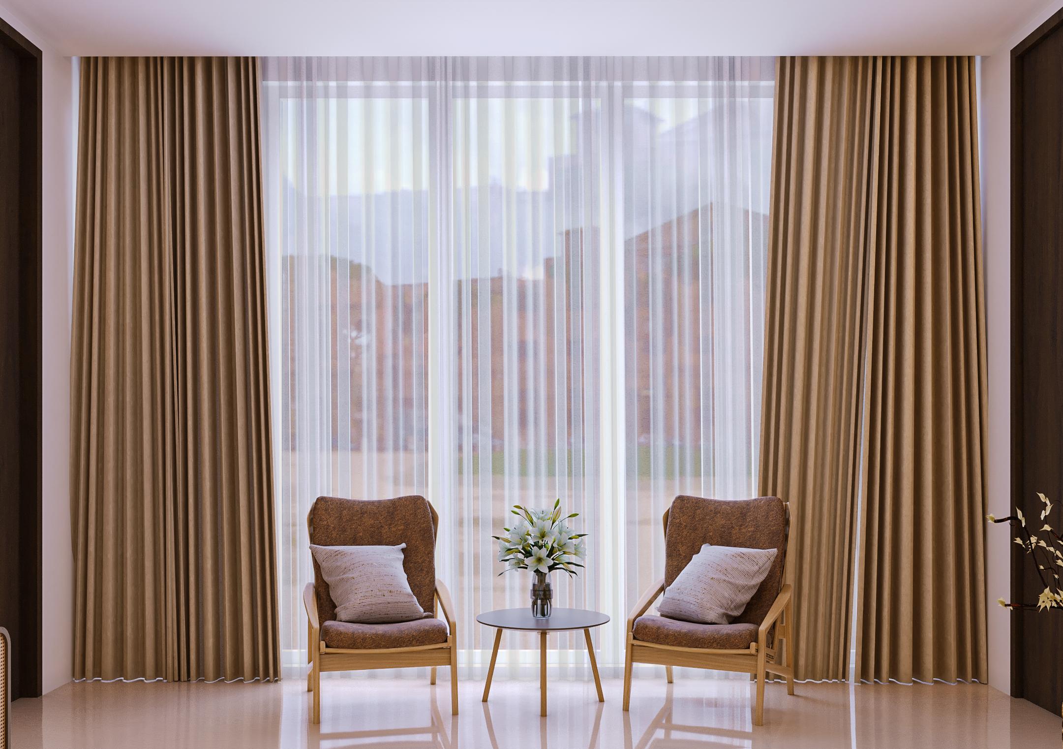 desain kamar di rumah modern tropis