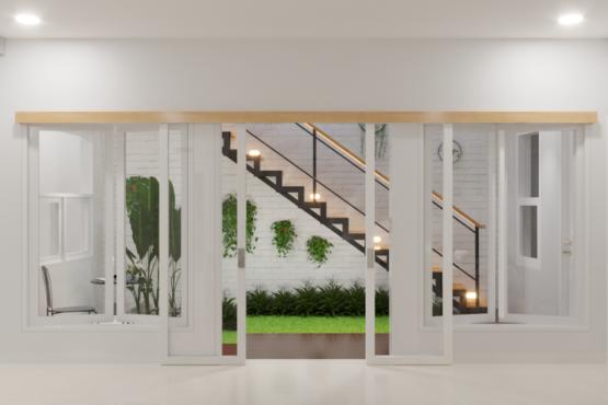 inspirasi interior taman rumah