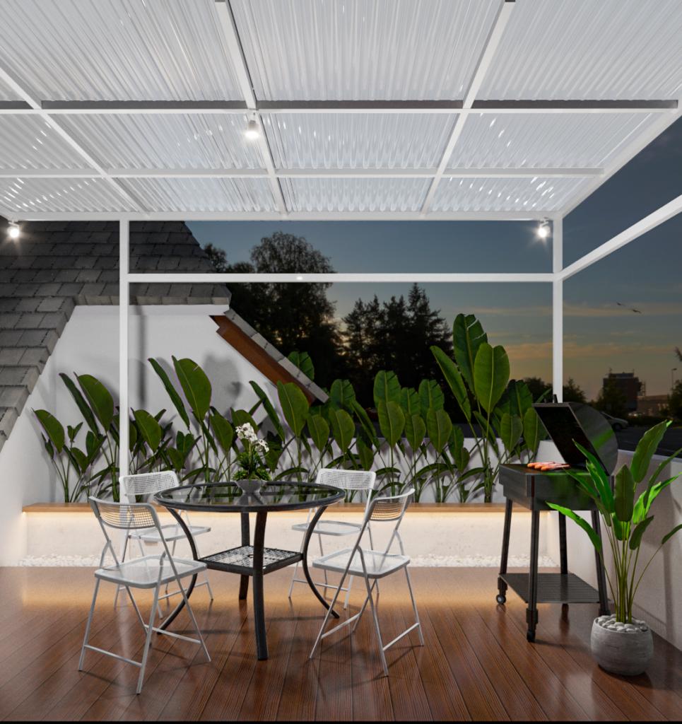 interior rooftop kontemporer