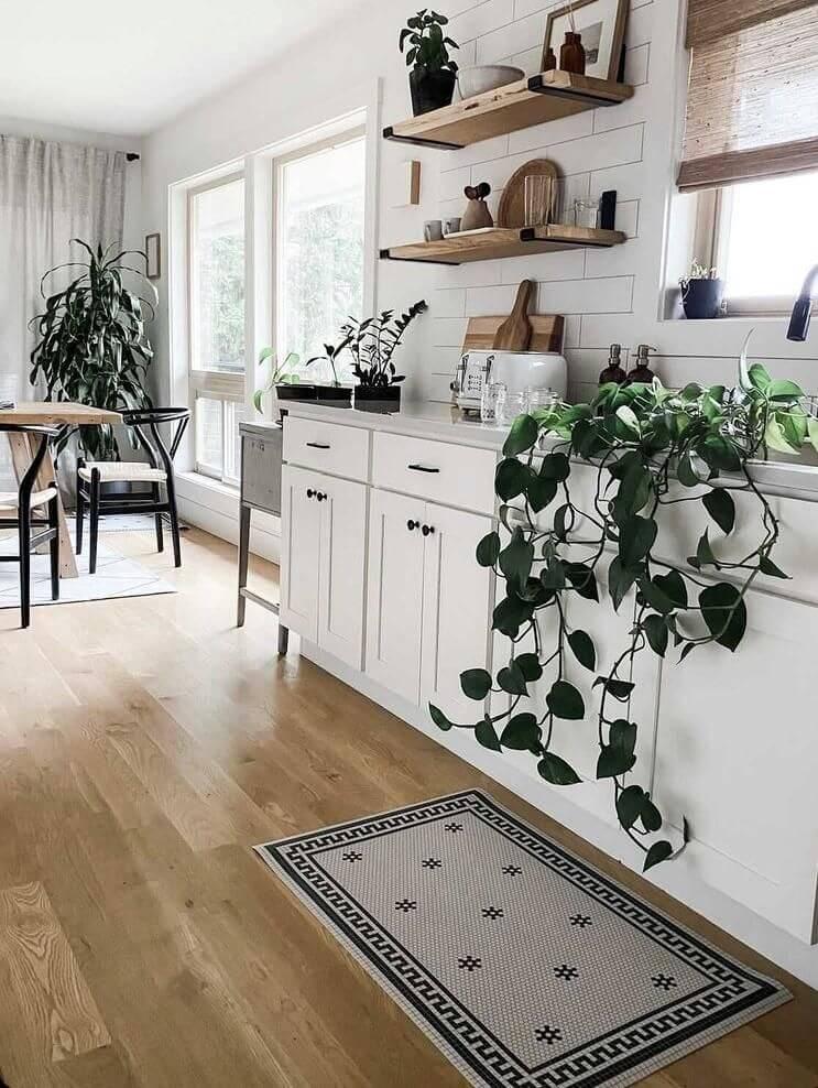 lantai dapur vinil