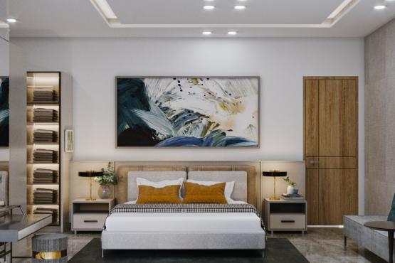kamar tidur modern kontemporer