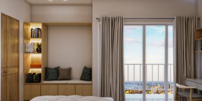 desain kamar tidur modern kontemporer