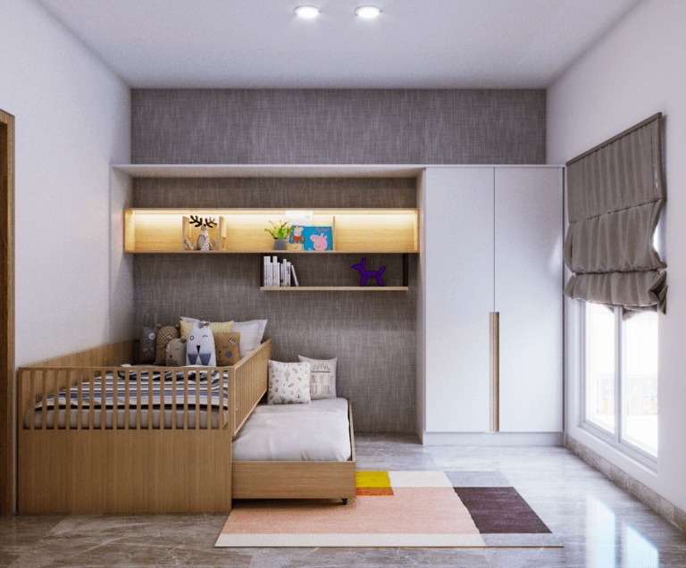 kamar tidur anak modern kontemporer