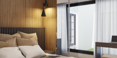 desain model kamar modern