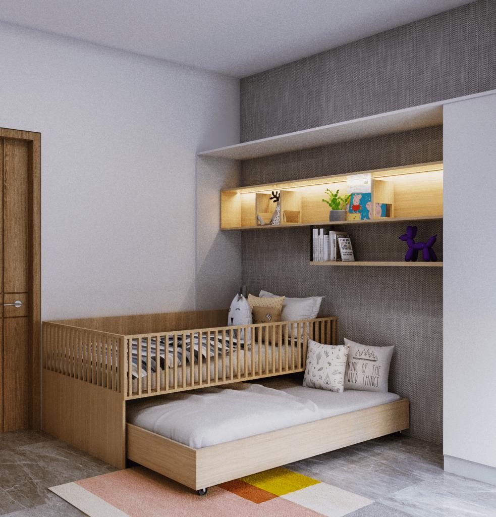 desain kamar tidur anak modern kontemporer