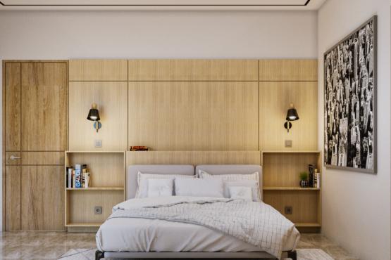 inspirasi desain kamar tidur modern kontemporer