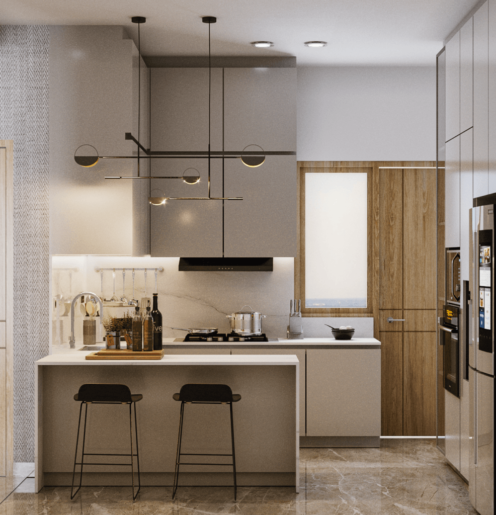 desain interior ruang keluarga modern kontemporer