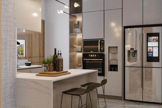 inspirasi ruang keluarga modern kontemporer
