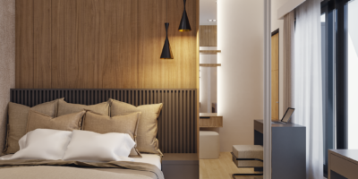 model kamar modern