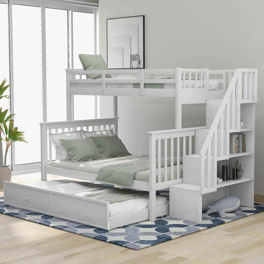 ukuran kamar tidur untuk tempat tidur tingkat