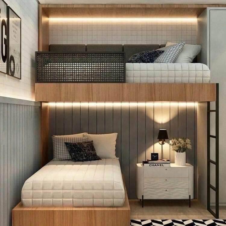 fitur tempat tidur tingkat